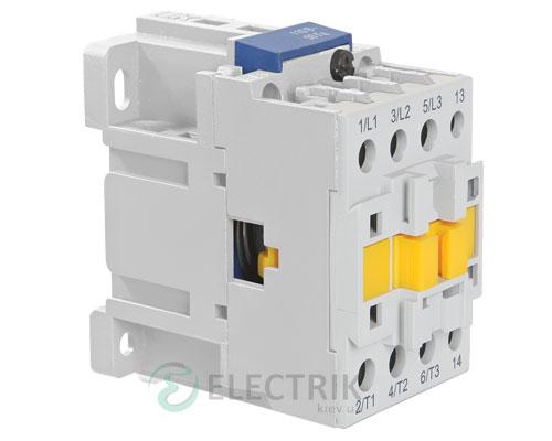 Контактор электромагнитный ПМ12-040150 40 А 230 В/AC3 1НО, IEK