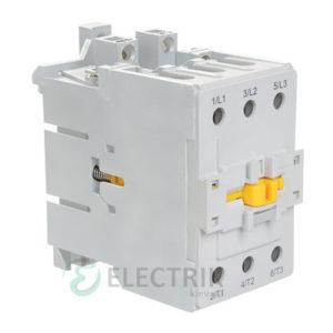 Контактор электромагнитный ПМ12-063150 63 А 110 В/AC3 1НО+1НЗ, IEK