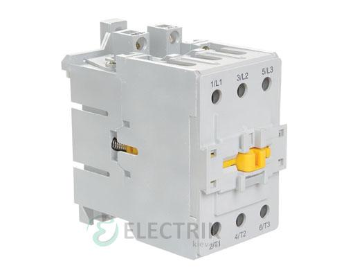 Контактор электромагнитный ПМ12-063150 63 А 400 В/AC3 1НО+1НЗ, IEK