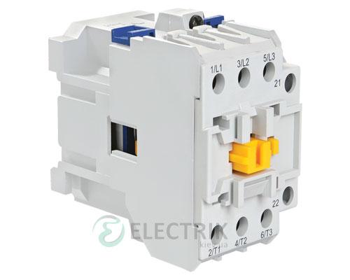 Контактор электромагнитный ПМ12К-016150 16 А 230 В/AC3 1НО, IEK