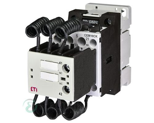 Контактор конденсаторный CEM 10CK.02 10кВАр 400-440V, ETI (Словения)