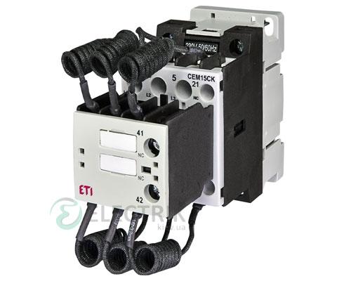 Контактор конденсаторный CEM 15CK.02 15кВАр 400-440V, ETI (Словения)