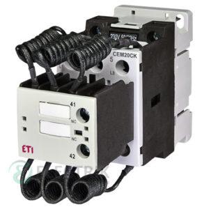Контактор конденсаторный CEM 20CK.01 20кВАр 400-440V, ETI (Словения)