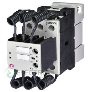 Контактор конденсаторный CEM 25CK.01 25кВАр 400-440V, ETI (Словения)