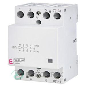 Контактор модульный RA 40-40 40A 230V AC 4NO, ETI (Словения) 2464095