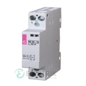 Контактор модульный импульсный RBS 420-31 20A 230V AC 3NO+1NC, ETI (Словения) 2464133