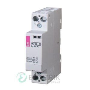 Контактор модульный импульсный RBS 425-21 25A 24V AC 2NO+1NC, ETI (Словения) 2464146
