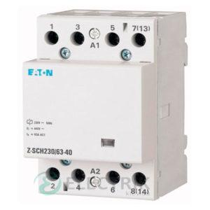 Модульный контактор 230В, 63А, 2НО EATON Z-SCH230/63-20 248859