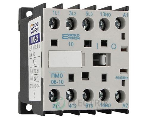 Контактор ПМ 0-06-10 B7 6А 24В/AC 1НО АСКО-УКРЕМ