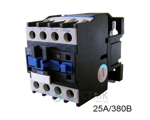 Контактор ПМ 2-25-10 Q7 25A 380B/AC 1НО АСКО-УКРЕМ
