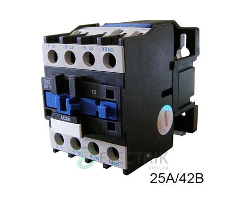 Контактор ПМ 2-25-10 D7 25A 42B/AC 1НО АСКО-УКРЕМ