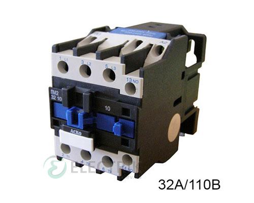 Контактор ПМ 2-32-10 F7 32A 110B/AC 1НО АСКО-УКРЕМ