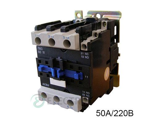 Контактор ПМ 3-50 M7 50A 220B/AC 1НО+1НЗ АСКО-УКРЕМ