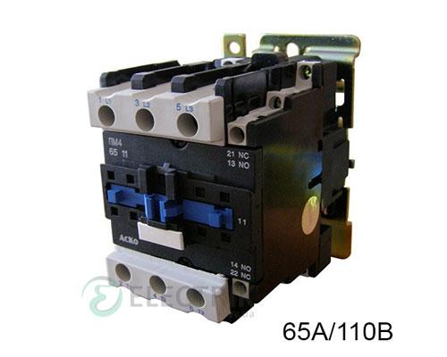 Контактор ПМ 4-65 F7 65A 110B/AC 1НО+1НЗ АСКО-УКРЕМ