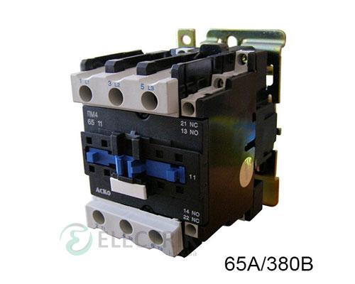 Контактор ПМ 4-65 Q7 65A 380B/AC 1НО+1НЗ АСКО-УКРЕМ