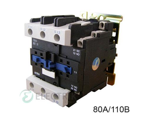 Контактор ПМ 4-80 F7 80A 110B/AC 1НО+1НЗ АСКО-УКРЕМ