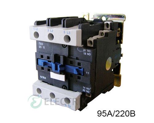 Контактор ПМ 4-95 M7 95A 220B/AC 1НО+1НЗ АСКО-УКРЕМ