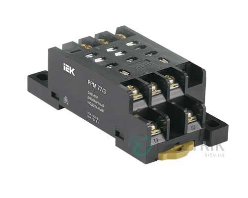 Разъем модульный РРМ78/3(PYF11A) для РЭК78/3(MY3) IEK