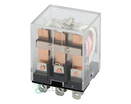 Реле промежуточное e.control.p1036, 3 группы контактов 10А 230В AC, E.NEXT