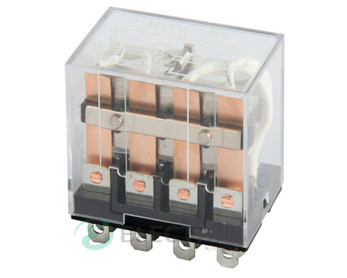 Реле промежуточное e.control.p1042, 4 группы контактов 10А 12В AC, E.NEXT