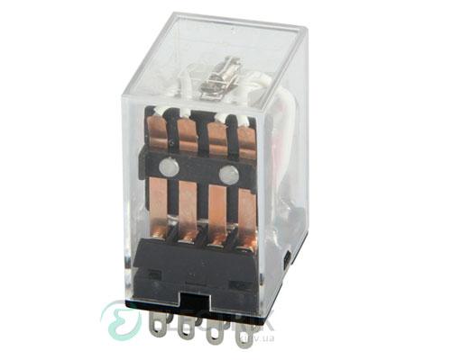 Реле промежуточное e.control.p345, 4 группы контактов 3А 110В AC, E.NEXT