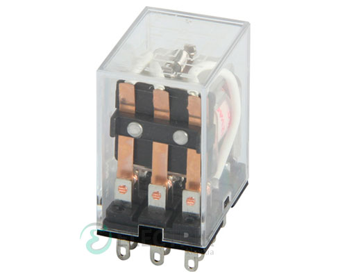 Реле промежуточное e.control.p536, 3 группы контактов 5А 230В AC, E.NEXT