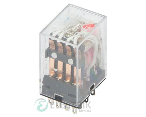Реле промежуточное с LED-индикацией e.control.p346L, 4 группы контактов 3А 230В AC, E.NEXT