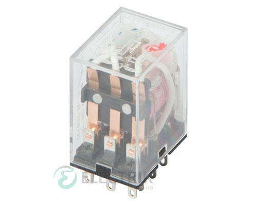 Реле промежуточное с LED-индикацией e.control.p536L, 3 группы контактов 5А 230В AC, E.NEXT