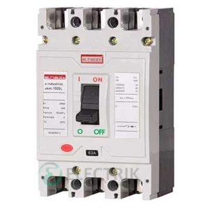 Силовой автоматический выключатель e.industrial.ukm.100SL.32, 3P 32А 20кА, E.NEXT