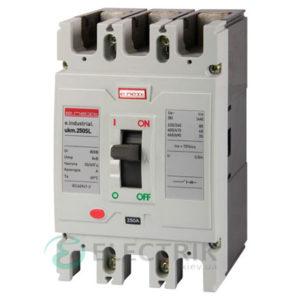 Силовой автоматический выключатель e.industrial.ukm.250SL.125, 3р, 125А 65кА, E.NEXT