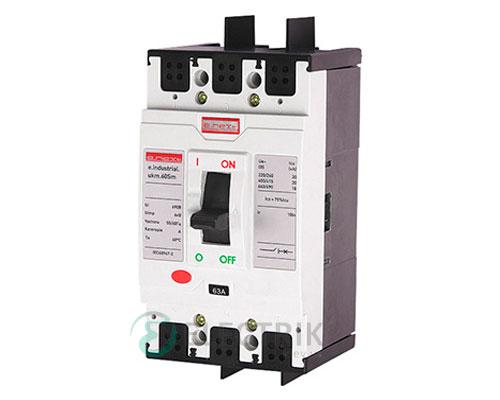 Силовой автоматический выключатель e.industrial.ukm.60Sm.40, 3р, 40А 20кА, E.NEXT