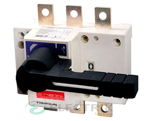 Выключатель-разъединитель 3P 125А с фронтальной рукояткой e.industrial.ukg.125.3, E.NEXT
