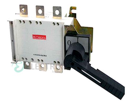 Выключатель-разъединитель 3P 315А с фронтально-боковой рукояткой e.industrial.ukgz.315.3, E.NEXT