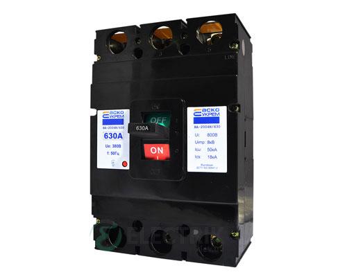 Автоматический выключатель ВА-2004N/630 3р 630А АСКО-УКРЕМ
