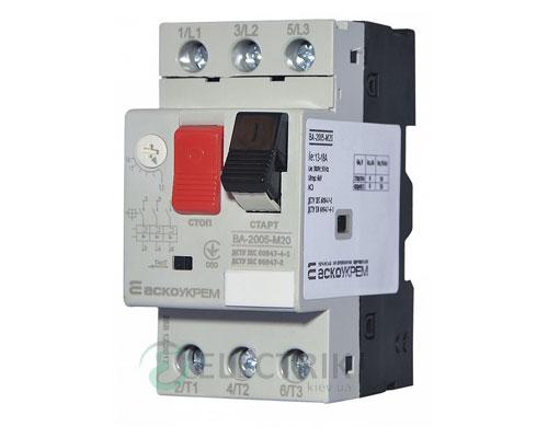 Автоматический выключатель защиты двигателя ВА-2005 М20 13,0-18,0А, АСКО-УКРЕМ