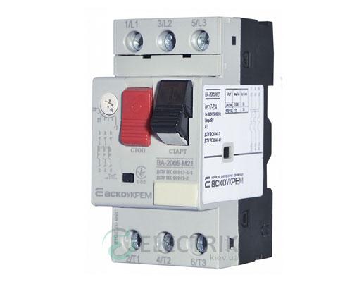 Автоматический выключатель защиты двигателя ВА-2005 М21 17,0-23,0А, АСКО-УКРЕМ