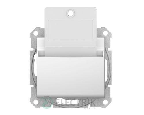 Выключатель карточный, белый, Sedna SDN1900121