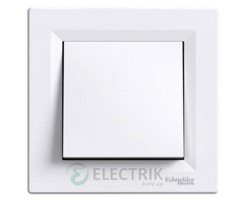 Кнопка белая, Asfora EPH0700121