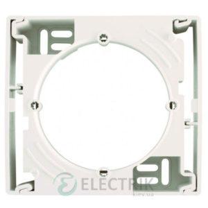 Коробка для наружного монтажа 1-постовая крем, Asfora EPH6100123
