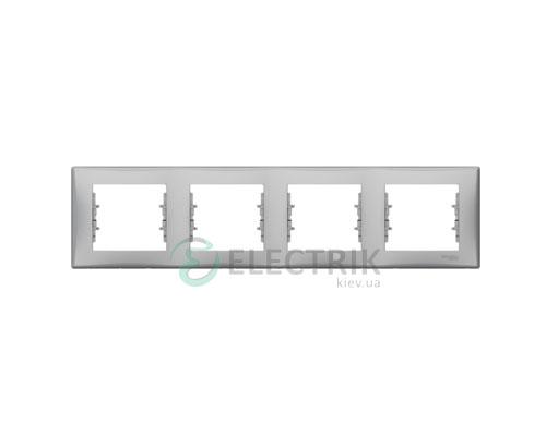 Рамка 4-постовая горизонтальная, алюминий, Sedna SDN5800760