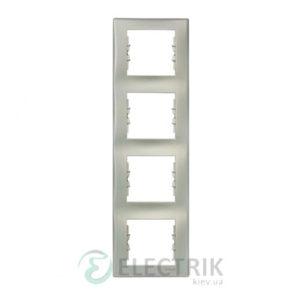 Рамка 4-постовая вертикальная, титан, Sedna SDN5802068