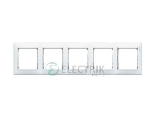 Рамка пятипостовая Legrand Valena 774455 (белая)