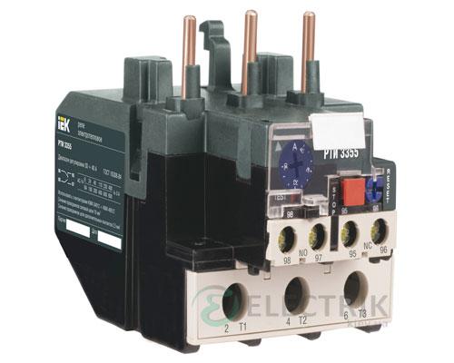 Реле РТИ-3355 электротепловое 30-40А