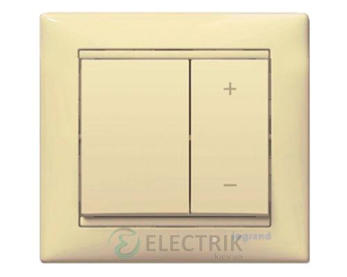 Светорегулятор кнопочный Legrand Valena 40-400Вт 774162 слоновая кость (крем)