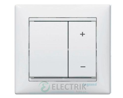Светорегулятор кнопочный Legrand Valena 40-600Вт 770074 (белый)