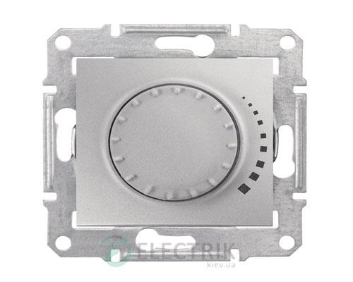 Светорегулятор поворотный индуктивный, алюминий, Sedna SDN2200460
