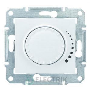 Светорегулятор поворотный индуктивный, белый, Sedna SDN2200421