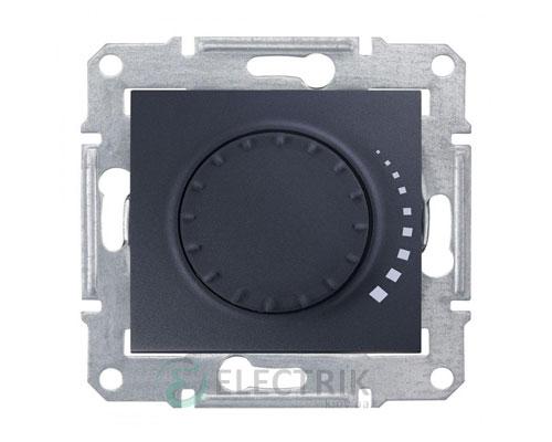 Светорегулятор поворотный индуктивный, графит, Sedna SDN2200470