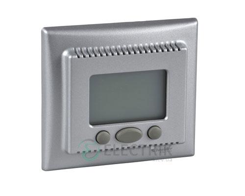 """Термостат с функцией """"комфорт"""", алюминий, Sedna SDN6000260"""