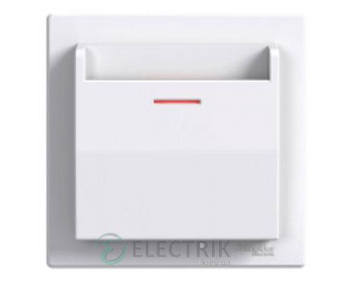 Выключатель карточный, белый, Asfora EPH6200121